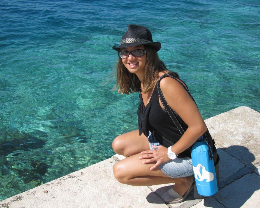 Las cristalinas aguas de Zadar