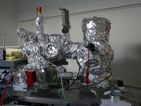 Baking my new UHV chamber