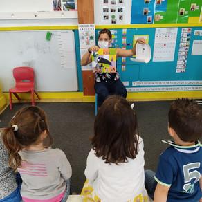 La mascotte de la classe des maternelles/CP