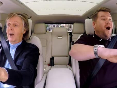 Paul McCartney aparece en el 'Carpool Karaoke'
