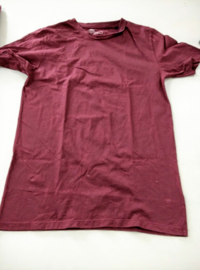 USed t shirt for waistband