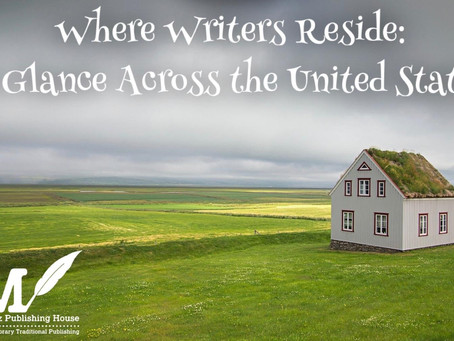 Where Writers Reside: A Glance Across the United States