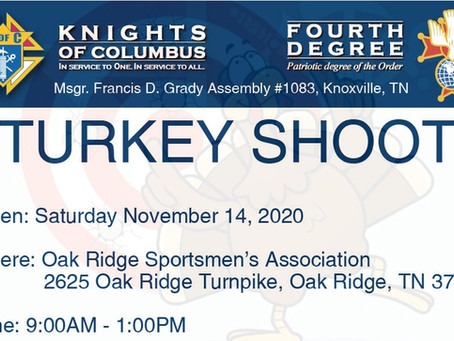 2020 Turkey Shoot by Assembly 1083