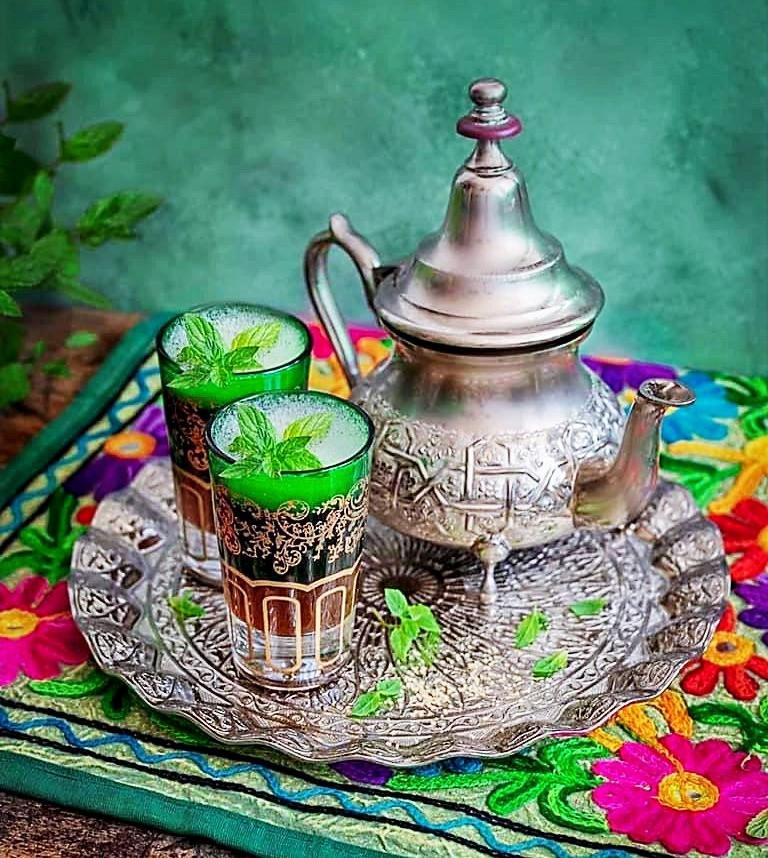 Traditional Morocco Tea
