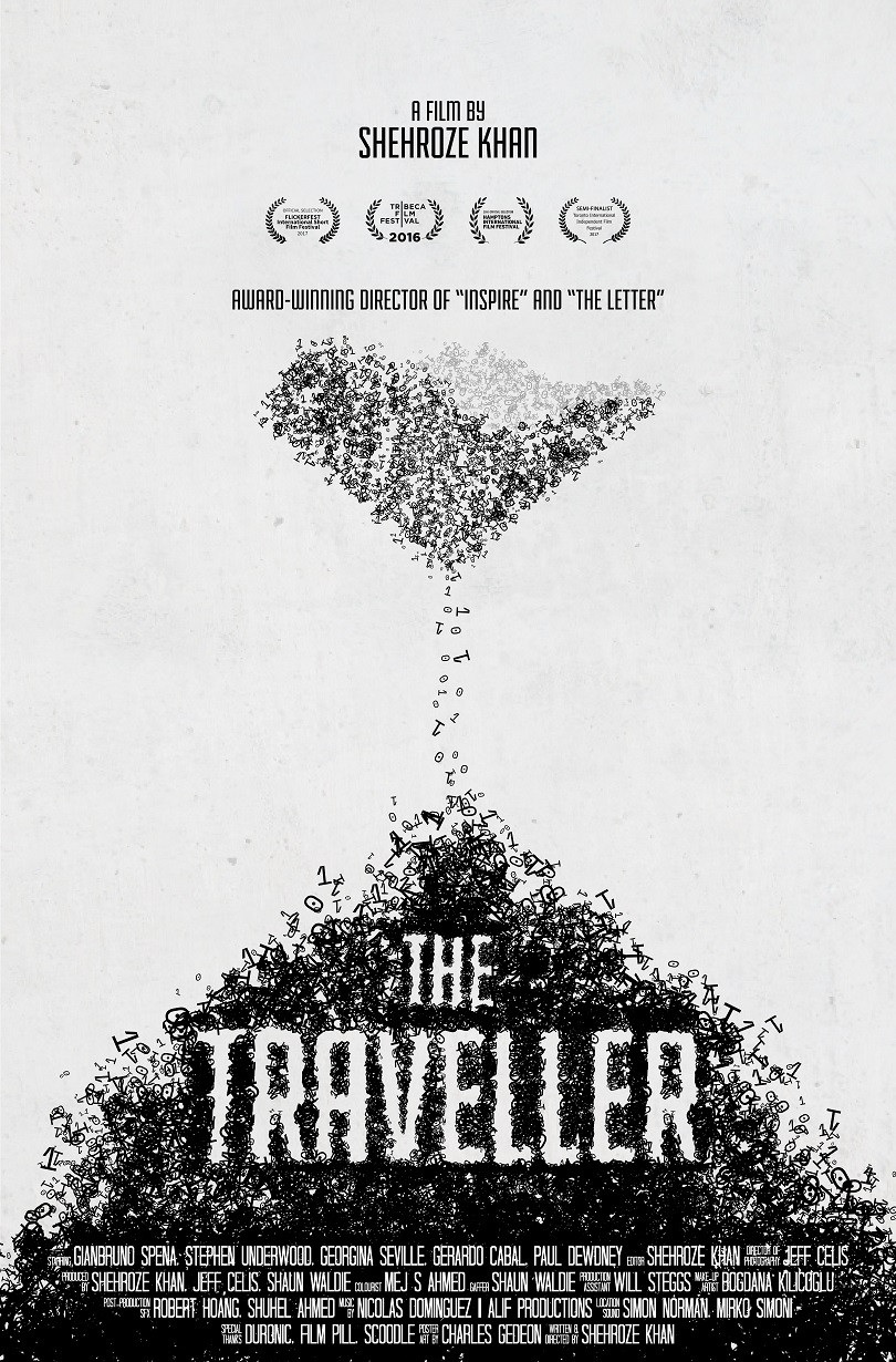 The Traveller short film poster
