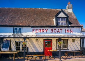 English Seaside Day Trip: Felixstowe Ferry, Suffolk