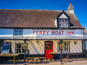 English Seaside Day Trip: Felixstowe Ferry, Suffolk