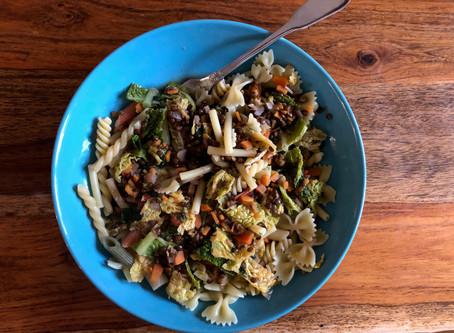 Minus Plastik plus Klimaschutz: vegan essen für weniger Klimabelastung