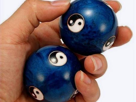 """Les boules """"bǎo dìng (保定)"""", un outil de longévité"""