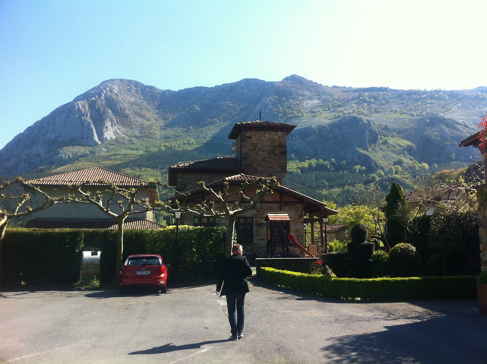 The Nature surrounding Asador Etxebarri is fantastic! Axpe is a real small village with mountain, meadows and forests making it a magical scenery.