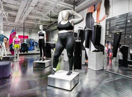 De plussizepaspop van Nike: symbool van een kleine revolutie?