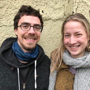 Zwischen Acker und Hörsaal...mit Greta und Tobias