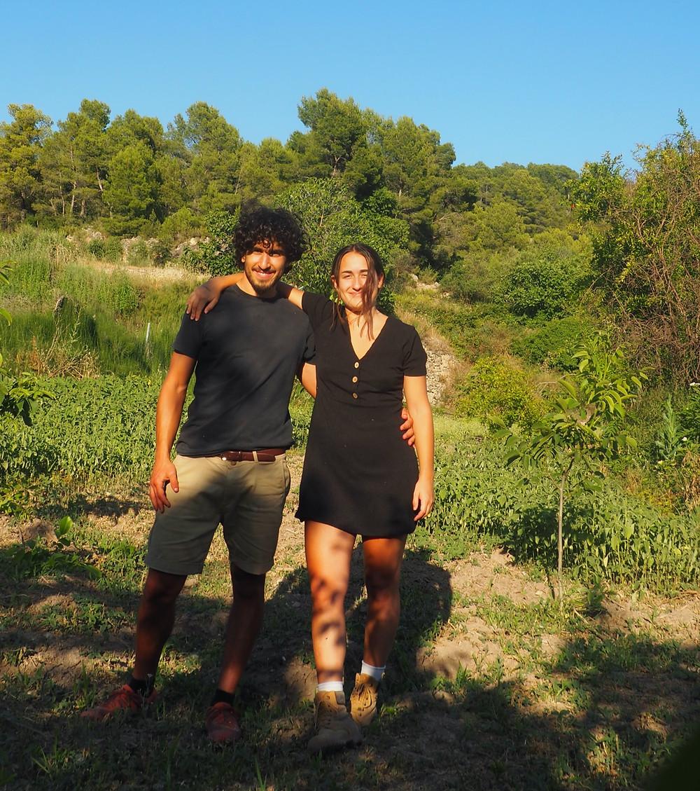 Germans Heribert i Nausica Cubells i Cubells d'HeriCamps.