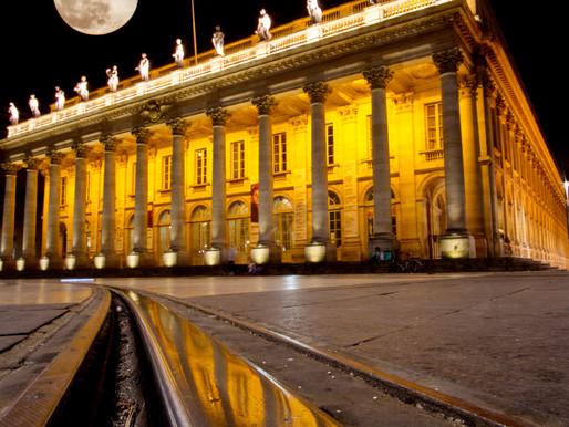 Super Snow Moon in Bordeaux
