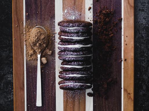 Cake Mix Oreo Cookies