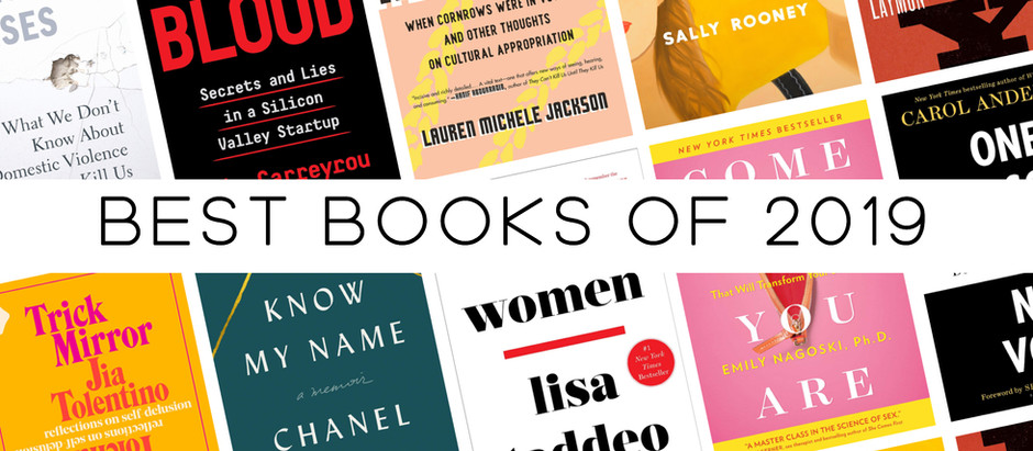 Maggie's Best Books of 2019