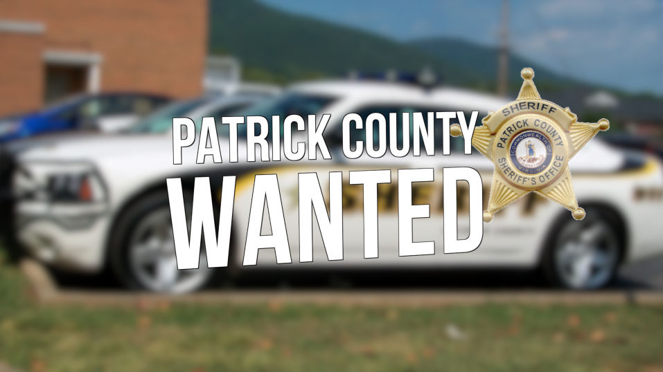 Patrick County Sheriff's Office updated wanted list
