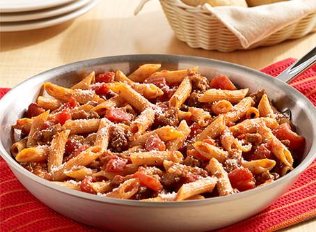 Skillet Italian Sausage Pasta