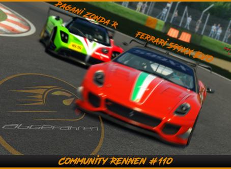 AC-CR 110 | Ferrari 599XX EVO und Pagani Zonda R in Imola