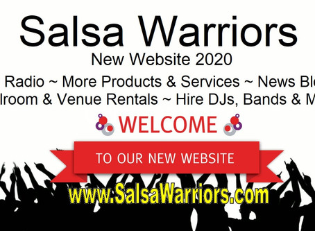 Salsa Warriors Launches New Website