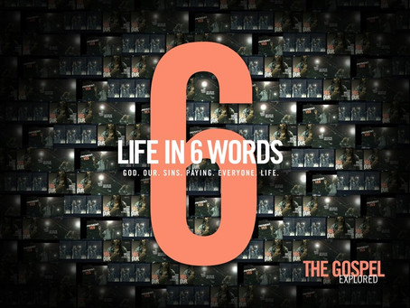 Life in 6 words....