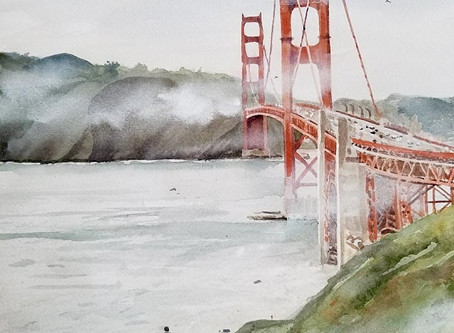 New Golden Gate Bridge Art!