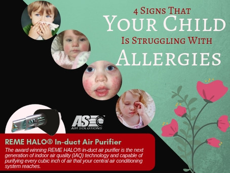 4 Signs That Your Child Is Struggling With Allergies