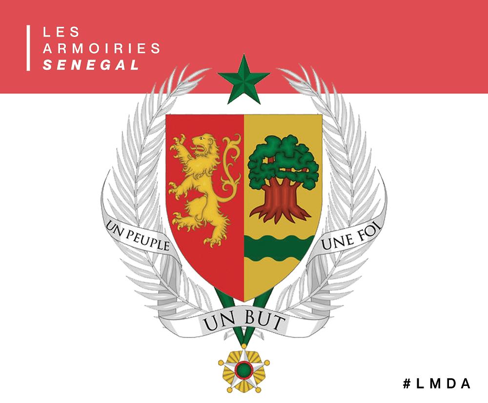 Les armoiries du Sénégal