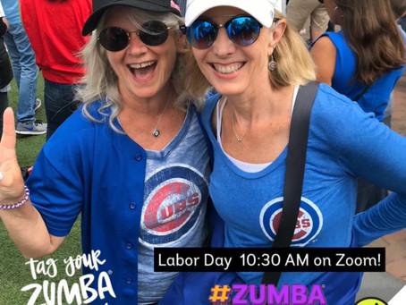 Labor Day FREE Zumba class