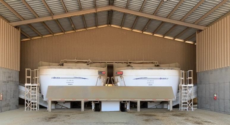 Electric feed mixers are helping California dairy farmers reduce diesel use and improve air quality.