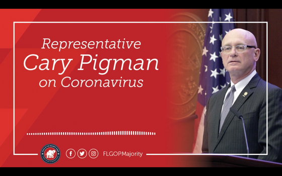 Rep. Cary Pigman Offers Coronavirus Insights from a Physician's Perspective | Radio Clip