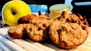 Vánoční štrúdlové muffiny bez mouky