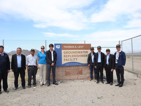 Educational Tour in Coachella Water District.