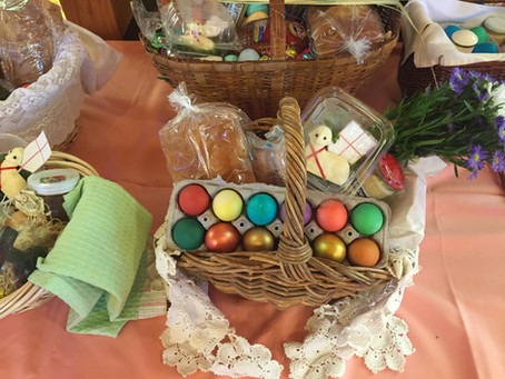 Blessed by the Blessing of Easter Baskets