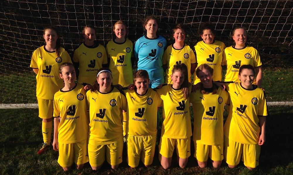 Montpelier Villa WFC girls' football team