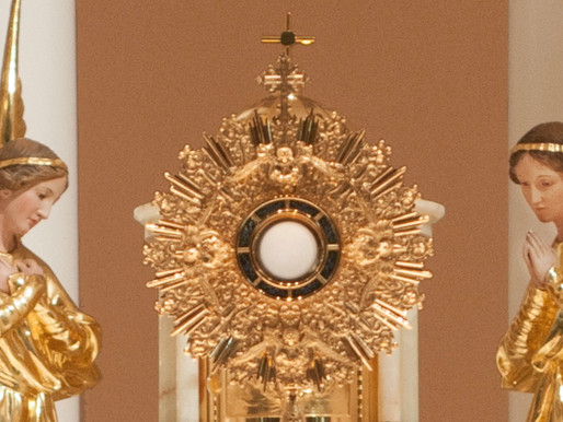 Adoration of the Blessed Sacrament resumes on Friday 4th January 2019