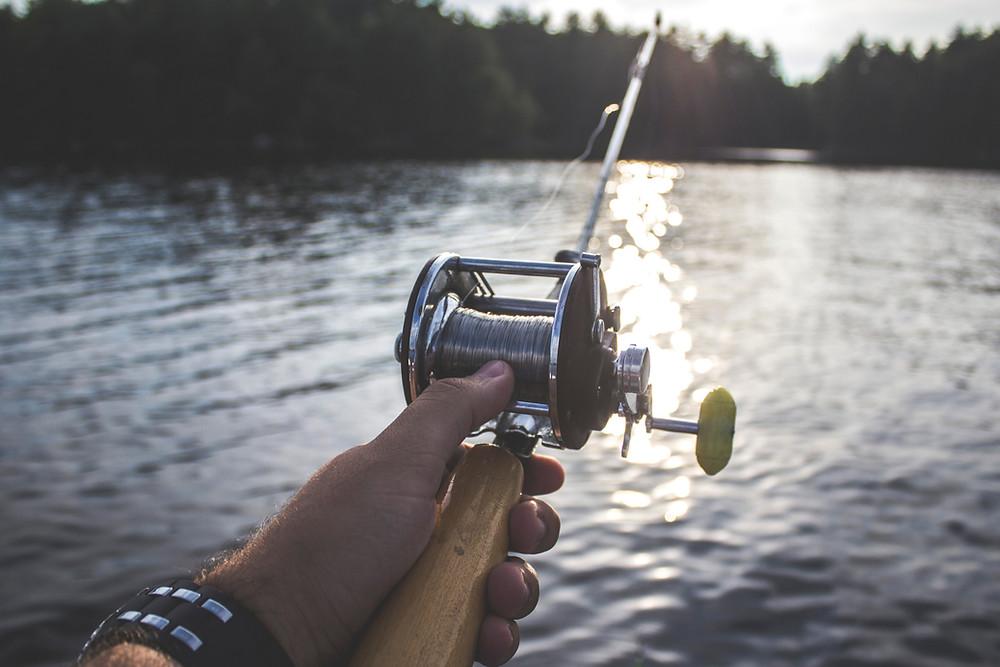 Casting fishing line