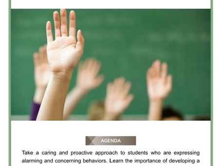 Threat Assessment and Behavioral Intervention Team training