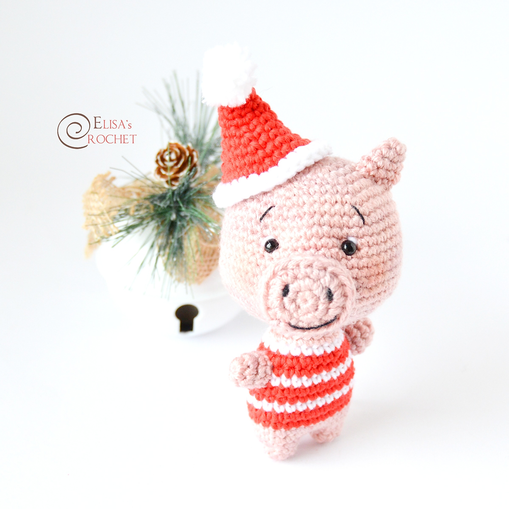 George Pig and Mr. Dinosaur. Crochet with free pattern from ... | 1000x1000