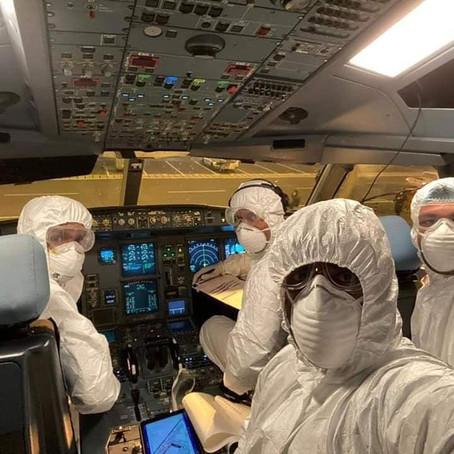 Tripulación de Sri Lankan Airlines se ofreció para operar un vuelo humanitario a Wuhan.