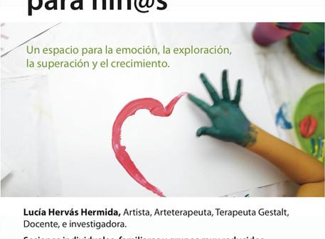 Taller de arteterapia para niños y niñas en Aranjuez