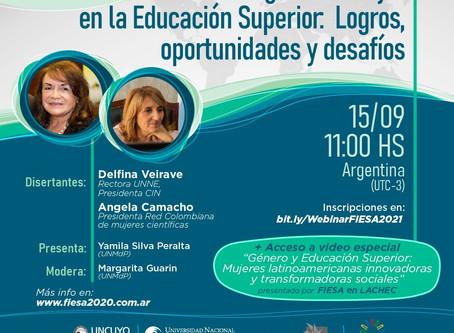 Liderazgo de la mujer en la Educación Superior. Logros, Oportunidades y desafíos