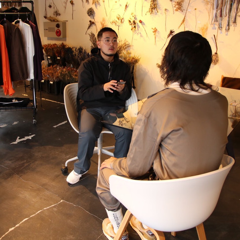interview with Yuta Takebe