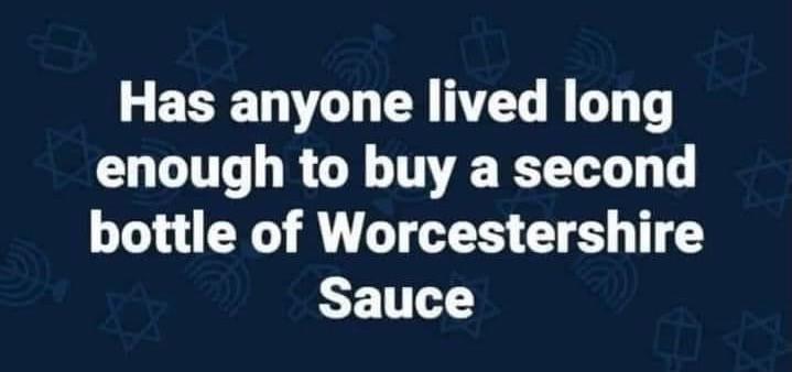 Worcestershire Sauce Meme