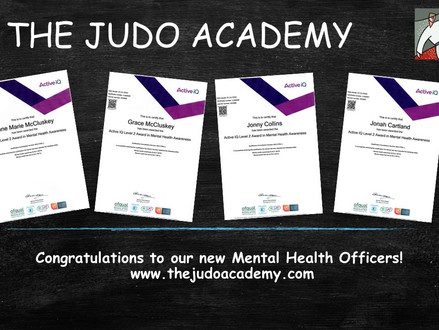 4 New Mental Health Awareness Officers achieve level 2 qualifications!