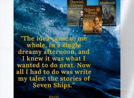 Seven Ships Maritime History launches. Floated on a dream.