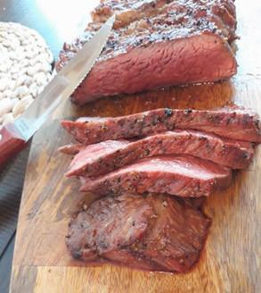 Grilled Rib-Eye Steaks With A Magic Spice Rub.