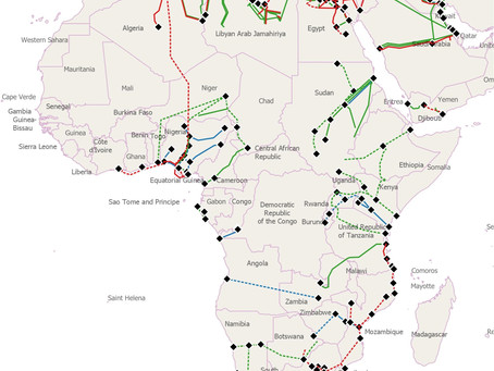 Hydrogen trade potential in African pipeline infrastructure