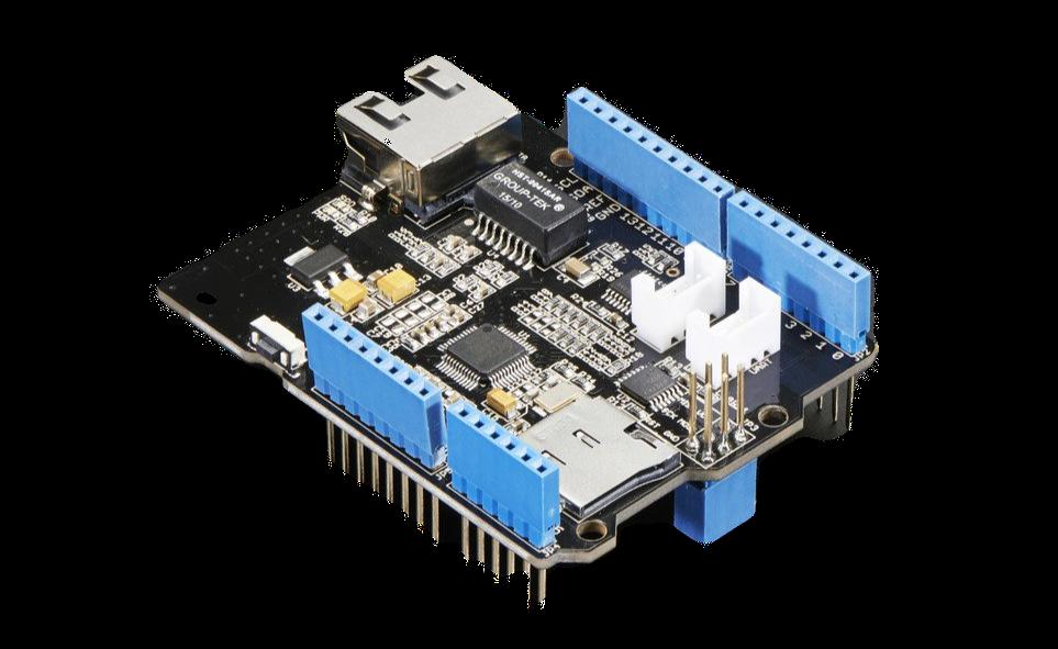 Подключите Arduino к Интернету с помощью  Arduino Ethernet Shield