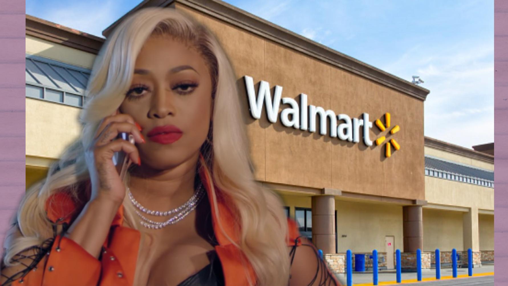 Trina Get's Called A N**** In Walmart (Video)